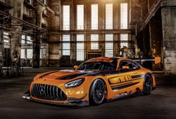 El Mercedes-AMG GT3 se actualiza para 2020