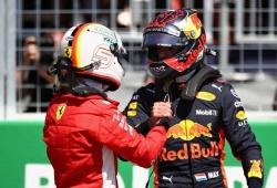 """Ricciardo compara a Vettel y a Verstappen: """"Max es más rápido a una vuelta"""""""