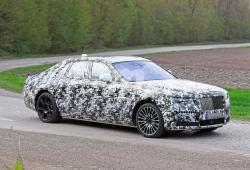 Los prototipos del nuevo Rolls-Royce Ghost con todo detalle