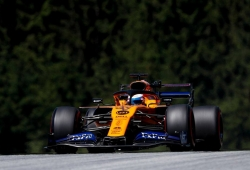 """Sainz, quinto en Austria: """"Me da rabia la penalización tras ver lo bien que vamos"""""""