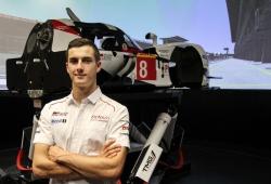 Thomas Laurent ya ejerce de piloto reserva de Toyota