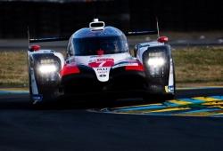 El Toyota #7 también lidera el 'warm up' de Le Mans