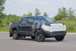 Cazado un prototipo del futuro Toyota Tundra Hybrid