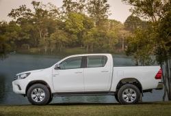 Argentina - Mayo 2019: Los pickups demuestran su popularidad