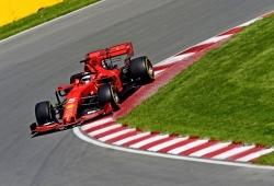 """Vettel, convencido de que Ferrari """"no es el más rápido"""" en Canadá"""