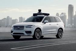Volvo y Uber presentan un coche autónomo listo para ser producido