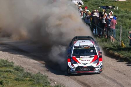 El dominio de Toyota en el Rally de Portugal se quiebra