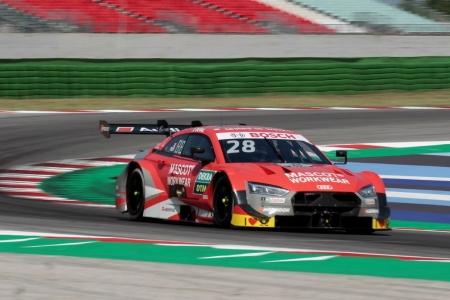 Duval y Wittmann lideran los libres del DTM en Misano