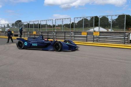 NIO prepara la 'Season Six' de la Fórmula E en Mallory Park