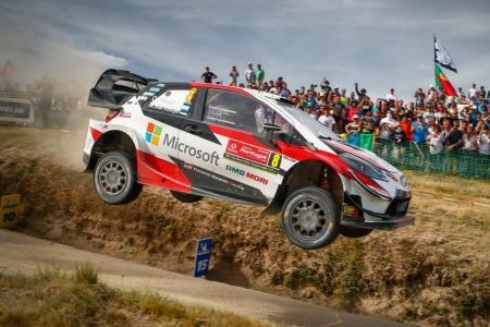 Ott Tänak conquista el Rally de Portugal por primera vez