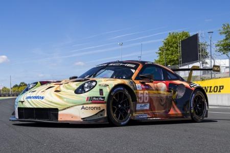 Project 1 desvela su Porsche 911 'art car' para Le Mans