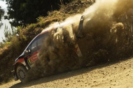 Toyota conserva su 'hat trick' en Portugal con Tänak líder