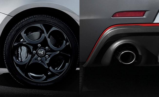 Alfa Romeo Giulietta Sport - detalles diferenciadores