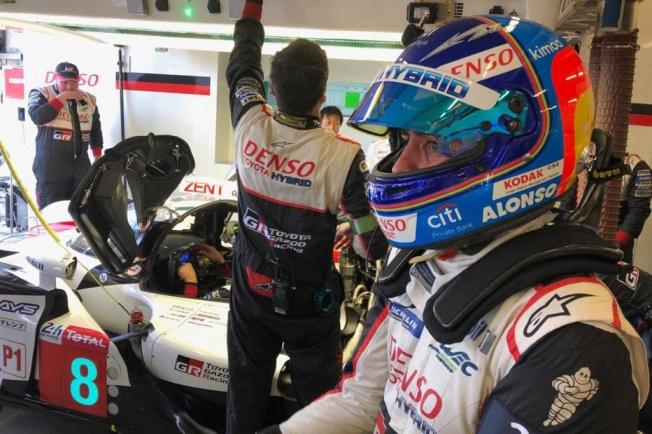 Alonso, tras el test de Le Mans: