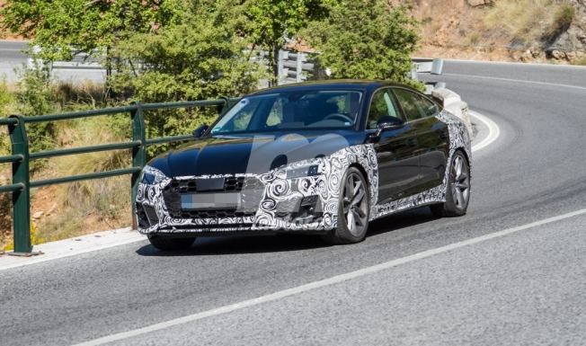 Audi A5 Sportback 2020 - foto espía