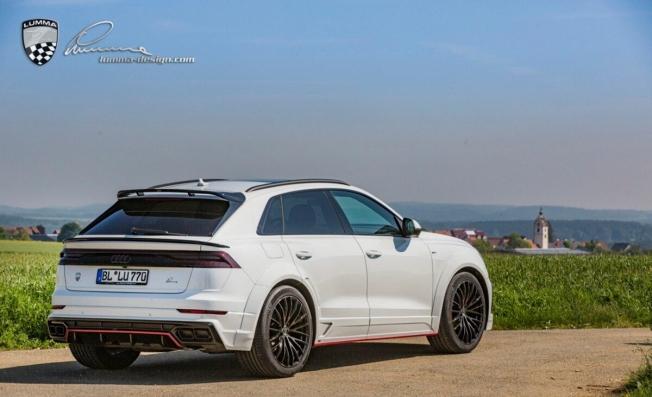 Audi Q8 preparado por Lumma Design