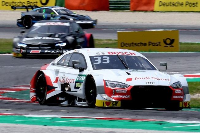 Doblete de poles de René Rast y el Audi RS 5 DTM en Misano