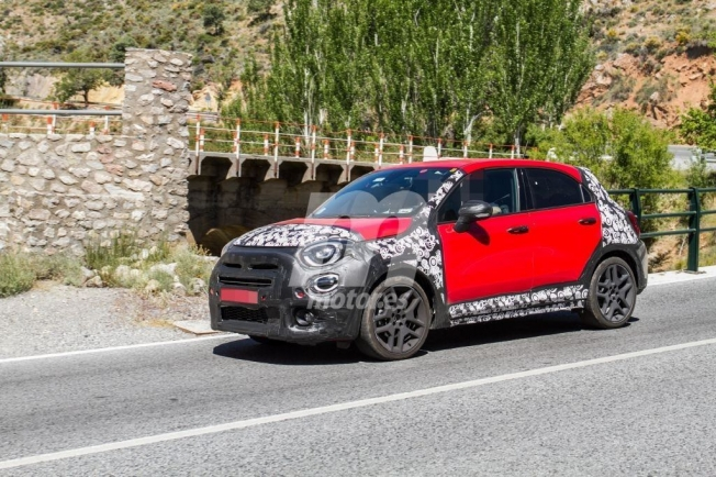 Fiat 500X Sport - fotos espía