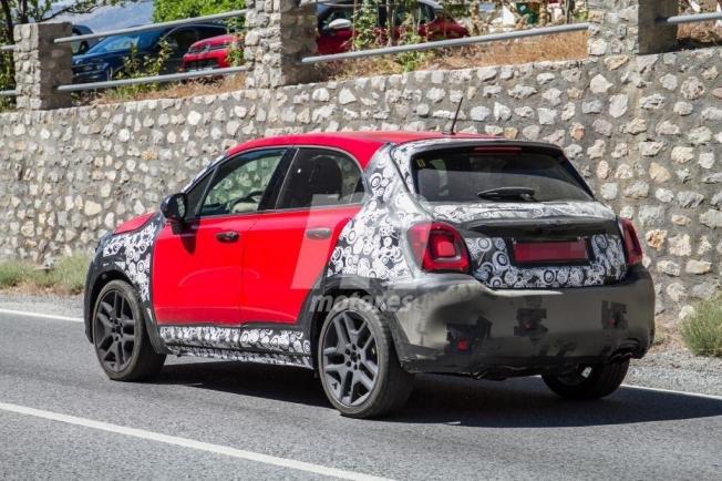 Fiat 500X Sport - foto espía posterior