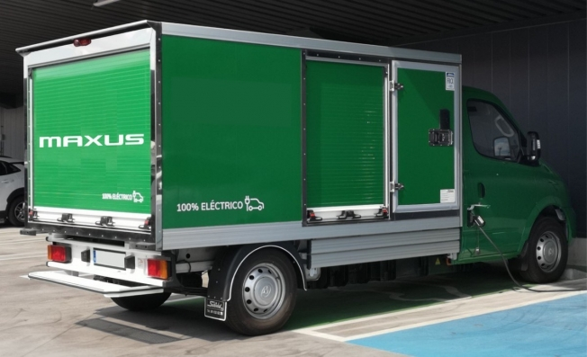 Vehículo comercial eléctrico de Maxus