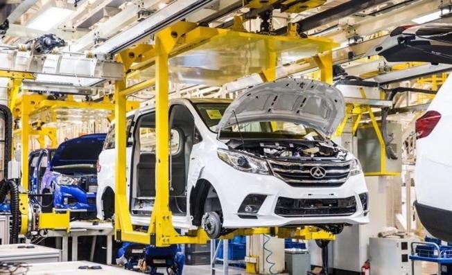 Producción de vehículos Maxus en China