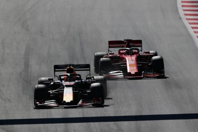 Verstappen y Vettel
