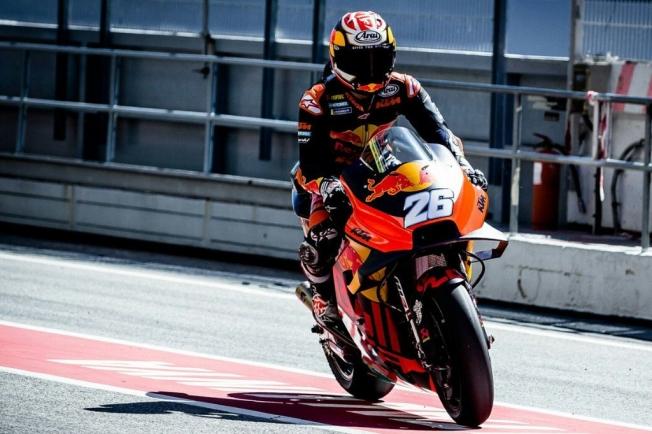 Maverick Viñales domina el test de MotoGP en Barcelona