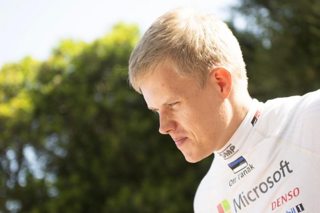 Ott Tänak, último piloto en sumarse al Rally de Estonia