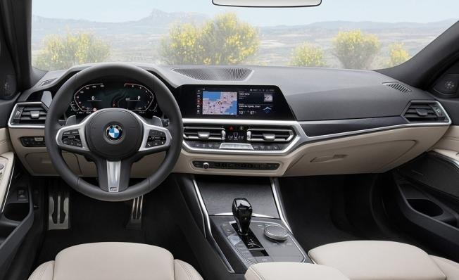 BMW Serie 3 Touring 2020 - interior