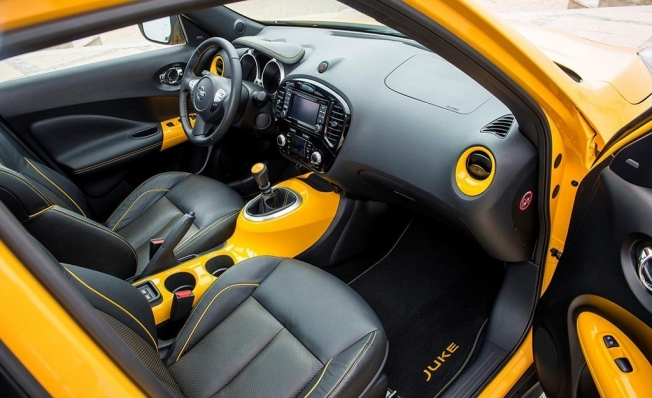 Nissan Juke - interior