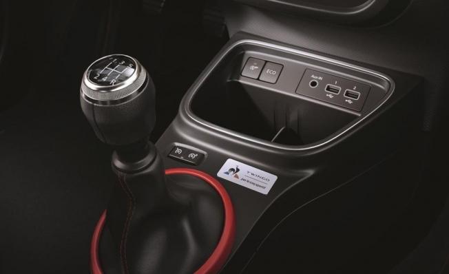 Renault Twingo le coq sportif - interior