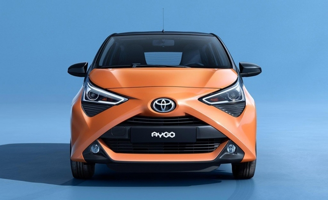 Toyota Aygo x-cite - frontal