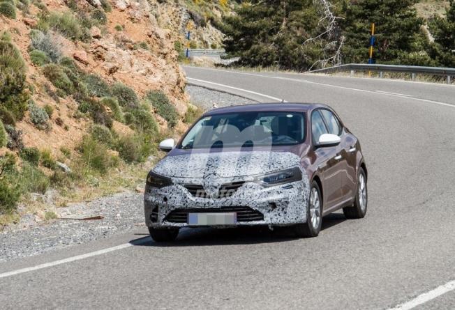 Renault Mégane 2020 - foto espía