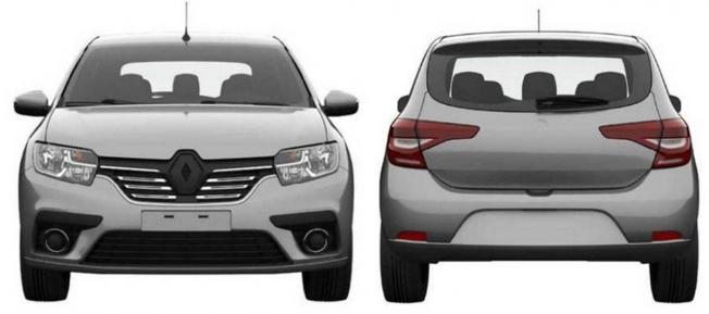 Renault Sandero 2020 - patentes