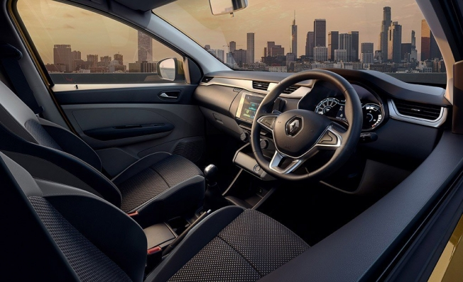 Renault Triber - interior