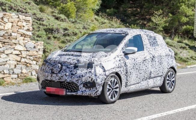 Renault ZOE 2020 - foto espía