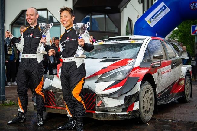 Takamoto Katsuta pilotará el cuarto Toyota Yaris WRC en Alemania y España