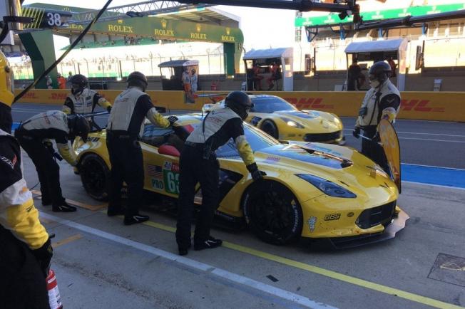 El Toyota #8 de Alonso manda en el 'Test Day' de Le Mans