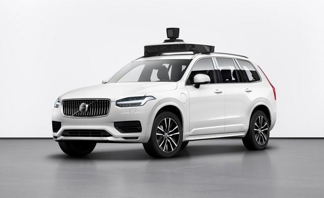 Coche autónomo de Volvo y Uber