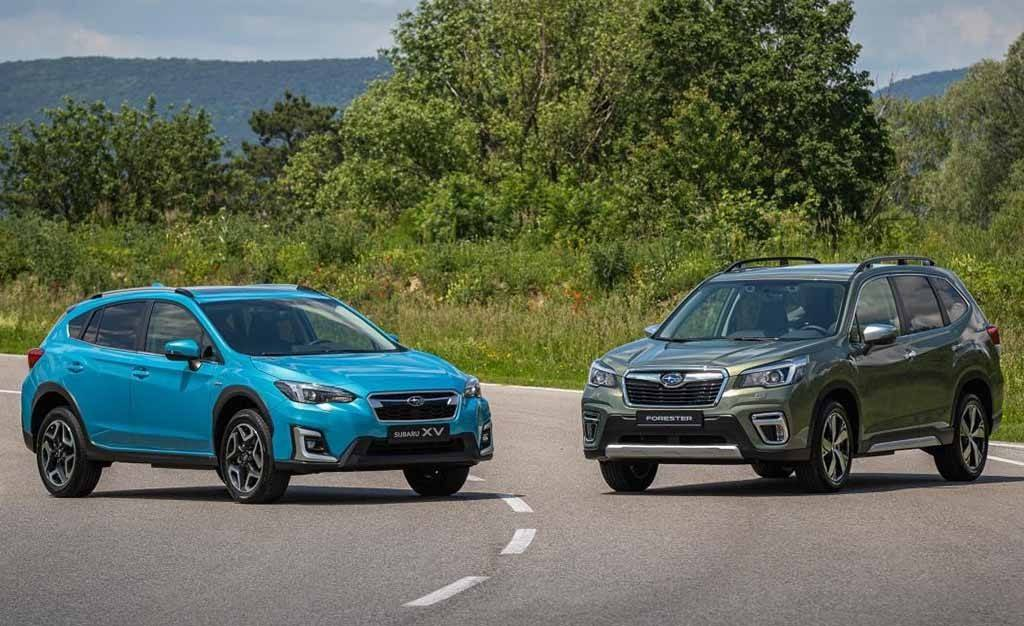Los nuevos híbridos de Subaru ya tienen precio, llega la gama ECO Hybrid