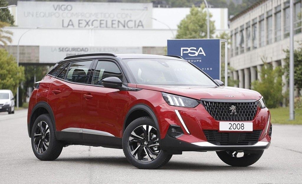 El nuevo Peugeot 2008 y su versión eléctrica e-2008 serán fabricados en España