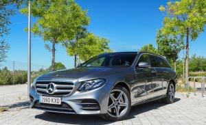 Prueba Mercedes Clase E 300 de, diésel con etiqueta Cero (con vídeo)
