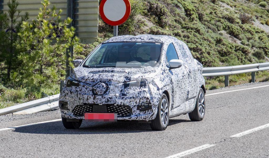 Los prototipos del Renault ZOE 2020 prosiguen su etapa de ensayos