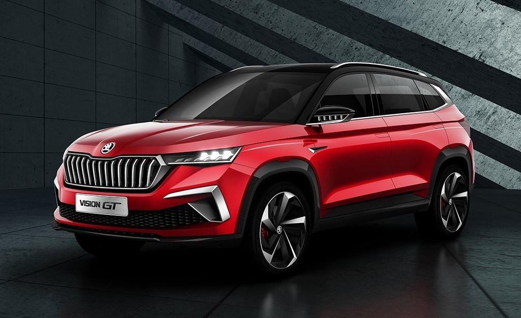 El Skoda Vision GT nos adelanta un nuevo SUV para China