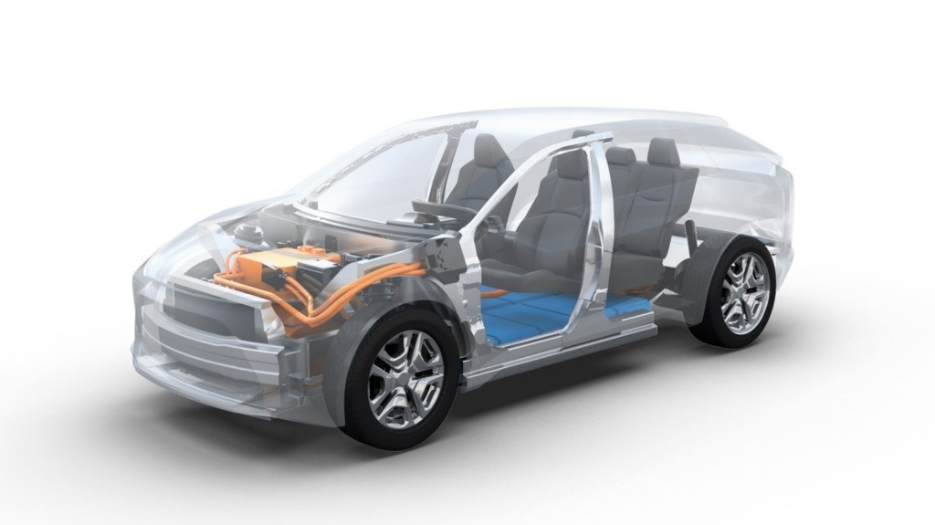 Toyota y Subaru lanzarán un crossover eléctrico basado en una nueva plataforma