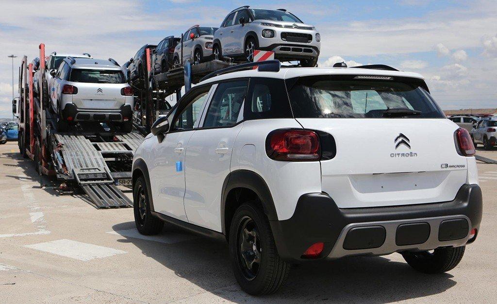 La fábrica de Zaragoza de PSA vuelve a exportar vehículos a Japón