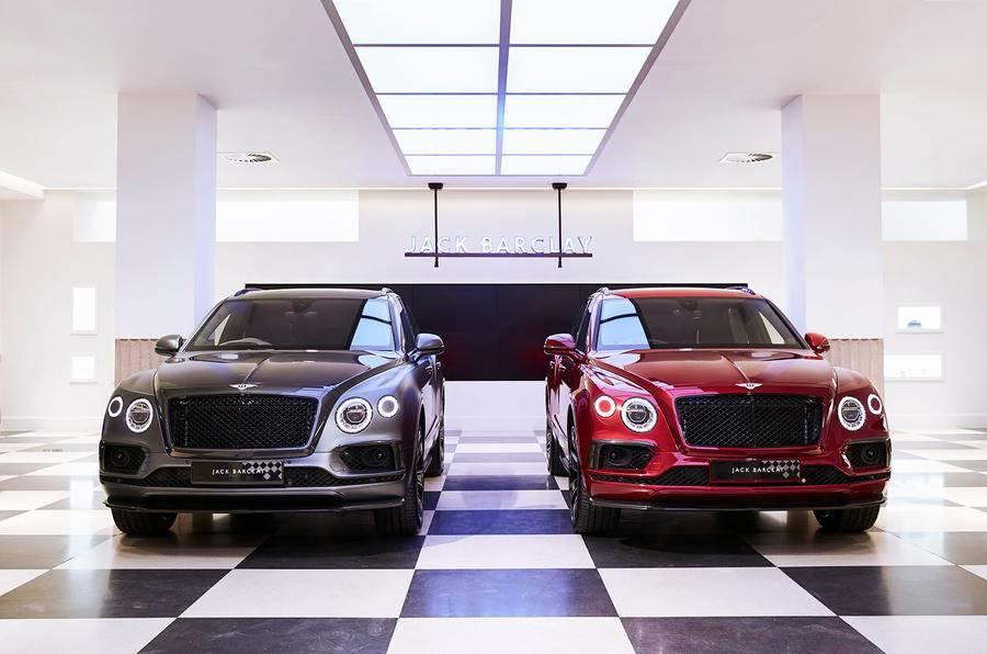 Asi son los cinco exclusivos Bentley Bentayga Businessman y Sportsman
