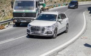 Audi Q7 TFSI e, cazada la nueva versión híbrida enchufable
