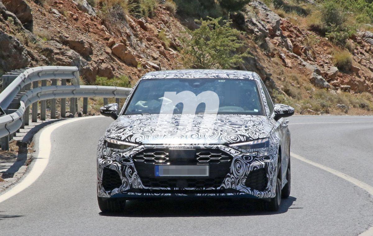 La nueva generación del Audi S3 Sedán vuelve a dejarse ver en pruebas de intenso calor