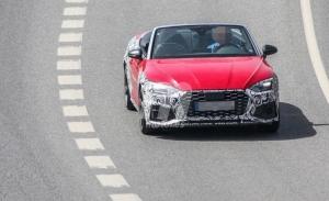 """El actualizado Audi S5 Cabrio vuelve a dejarse ver, esta vez en fotos espía """"aéreas"""""""
